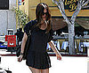 Photo Slide of Rachel Bilson in a Short Skirt in LA