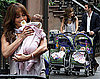 Photos of Jennifer Lopez Playing With Twins on the Set of The Back-Up Plan