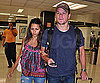 Photo Slide of Matt and Luciana Damon at The Miami Airport