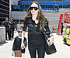 Photo Slide of Angelina Jolie and Maddox Jolie-Pitt Returning to LAX