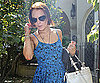 Photo Slide of Lindsay Lohan Leaving Samantha Ronson's House
