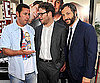 Photo Slide of Adam Sandler, Seth Rogen, and Judd Apatow at the LA Premiere of Funny People