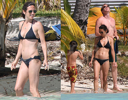 Photos of Jennifer Connelly in a Bikini While Vacationing With Paul Bettany in Bora Bora