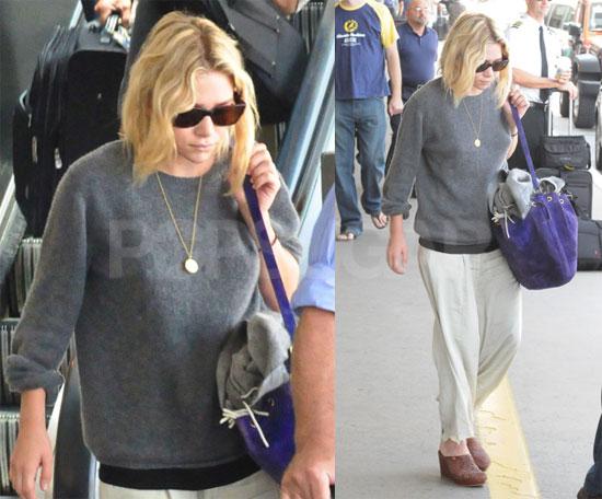 Photos of Ashley Olsen at LAX