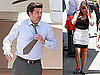 Photos of Patrick Dempsey and Jennifer Garner Filming Valentine&#039;s Day