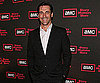 Photo Slide of Jon Hamm Celebrating The Third Season of Mad Men