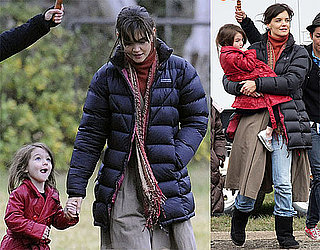 Photos of Katie Holmes and Suri Cruise on the Set of Don't Be Afraid of the Dark in Australia