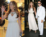 Photos of JLo and Marc in Rome