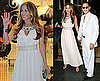 Photos of Jennifer Lopez and Marc Anthony at Yamamay Boutique in Rome