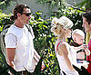 Photo Slide of Gwen Stefani and Gavin Rossdale Arriving at a Hotel in Irvine, CA, With Zuma