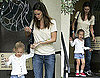 Photos of Jennifer Garner and Violet Affleck