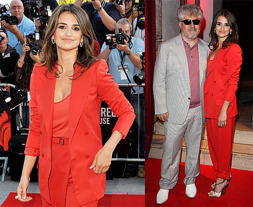 Photos of Penelope Cruz Looking Pregnant at the UK Premiere of Broken Embraces