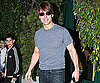 Photo Slide of Tom Cruise Leaving Dinner in LA With Connor