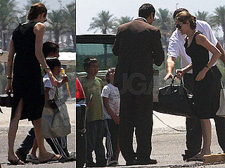 Photos of Angelina Jolie, Maddox Jolie-Pitt, Pax Jolie-Pitt in Las Vegas