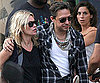 Slide Photo of Kate Moss and Jamie Hince Shopping in St Tropez