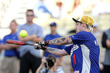 Photos of Joel Madden Playing Baseball