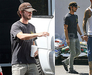 Photos of Shia LaBeouf at A Hardware Store in LA