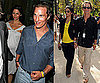 Photos of Matthew McConaughey and Camila Alves at the Tour de France in Paris