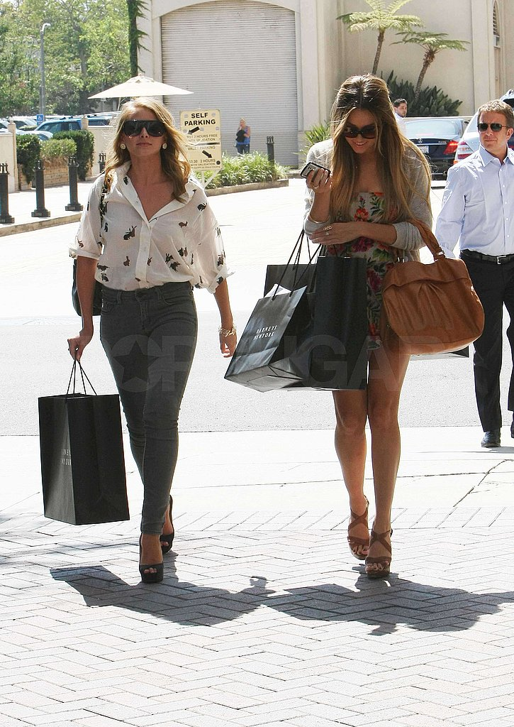 Photos of Lauren Conrad and Lo Bosworth Shopping at Barneys