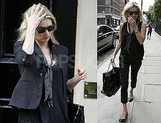Photos of Kate Moss Leaving London's Home Club