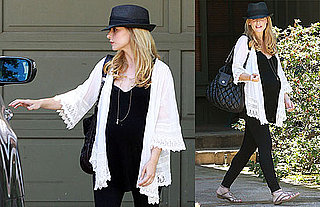 Photos of Pregnant Sarah Michelle Gellar Getting Lunch in LA