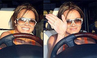 Photos of Britney Spears Grabbing Starbucks to Go