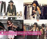 Photos of Lindsay Lohan Shopping With Friends in LA