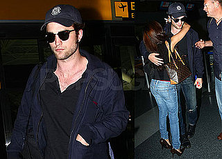 Photos of Robert Pattinson Leaving LAX and Arriving at JFK After Appearing at 2009 Comic-Con