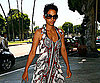 Slide Photo of Halle Berry Wearing Sunglasses on Her Way to Business Meeting in LA