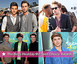 Photos of Robert Pattinson, Taylor Lautner, Chace Crawford, Zac Efron, Jonas Brothers at Teen Choice Awards