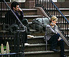 Photo Slide of James Franco and Julia Roberts Filming Eat, Pray, Love in NYC