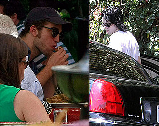 Robert and Kristen Play Hide and Seek but Can't Hide in LA