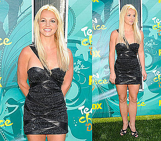 Photos of Britney Spears on the Red Carpet at the 2009 Teen Choice Awards