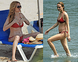 Photos of Heather Graham in a Bikini With Boyfriend Yaniv Raz in Barcelona, Spain
