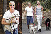 Photos of Ellen DeGeneres, Portia de Rossi Walking Their Dogs in LA