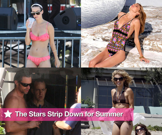 The Stars Strip Down For Summer