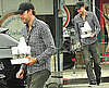 Photos of John Krasinski Getting Coffee