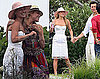 Photos of Ali Larter and Hayes MacArthur's Postwedding Brunch in Maine