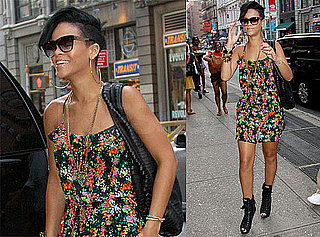 Photos of Rihanna in NYC, Requesting Less Restrictive Protection Order at Chris's Sentencing Hearing Today