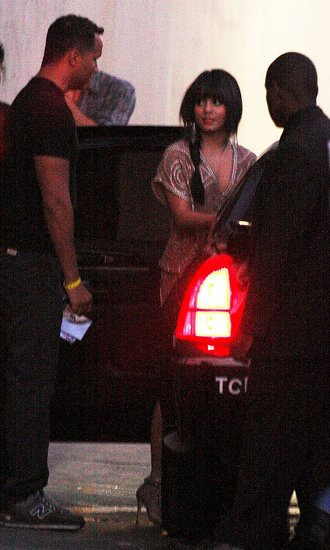 Photos of Vanessa Hudgens Leaving Jimmy Kimmel