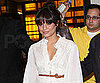 Slide Photo of Vanessa Hudgens in Time Square Wearing White