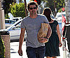 Slide Photo of Patrick Dempsey Carrying Groceries in LA