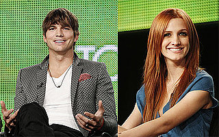 Photos and Interviews With Ashton Kutcher and Ashlee Simpson on Mischa and Jessica
