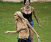 Slide Photo of Lindsay Lohan in Bikini Filming Machete With Ali