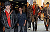 Photos of Kellan Lutz, Taylor Lautner Arriving in Vancouver