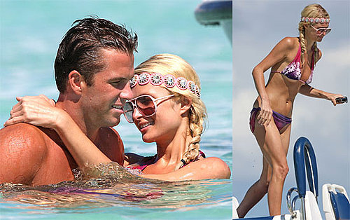 Bikini Photos of Paris Hilton Back Together With Shirtless Doug Reinhardt in Bora Bora 2009-08-11 10:00:13
