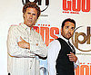 Slide Photo of Will Ferrell and Jeremy Piven at The Goods: Live Hard, Sell Hard Premiere