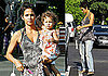 Photos of Halle Berry in Loose Shirt Carrying Nahla Aubry