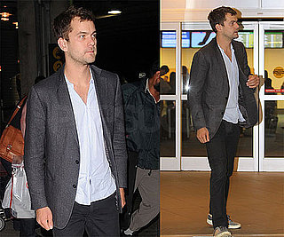 Photos of Joshua Jackson Arriving at Vancouver Airport