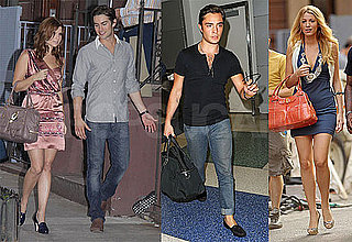 Photos of Ed Westwick, Chace Crawford, Blake Lively, and Joanna Garcia Filming Gossip Girl in NYC